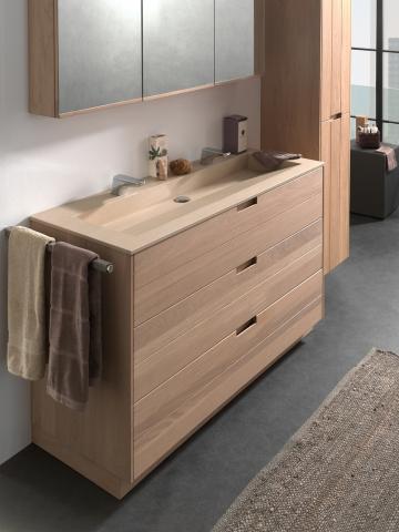 Meuble en bois de salle de bains Margaux - OAK4U