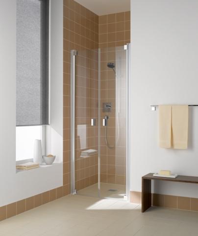 Porte à deux battants de douche Raya - KERMI