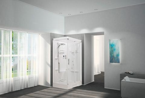 Nos douches cabines de douche portes et parois - Cabine de douche novellini ...