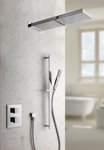 Nos douches cabines de douche portes et parois personnalisables induscabel salle de bains - Robinetterie murale cuisine ...
