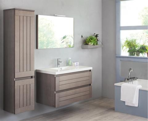 Meubles et table vasque Lignum - SANIJURA