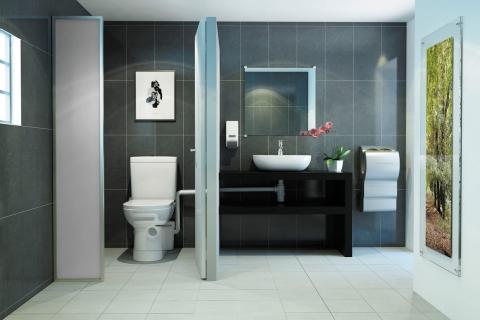 WC broyeur SaniAccess 2 - SFA