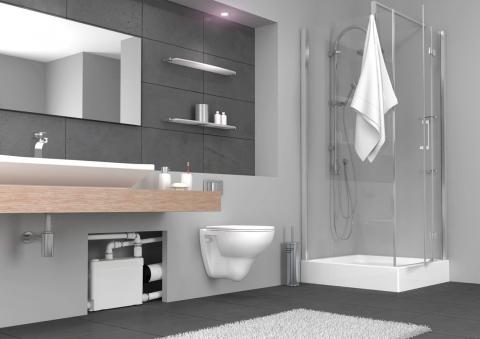 WC broyeur SaniaPack - SFA