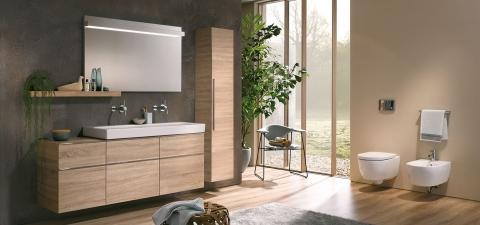 WC et bidet suspendus iCon - KERAMAG