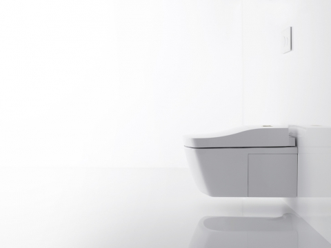 WC japonais intelligent Washlet - TOTO