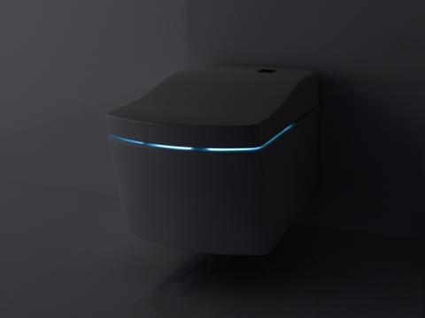 WC douche intelligent avec lumière intégrée Washlet - TOTO