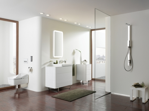 WC design japonais intelligent Washlet - TOTO