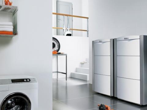 Chaudière sol au gaz à condensation EcoVIT - VAILLANT