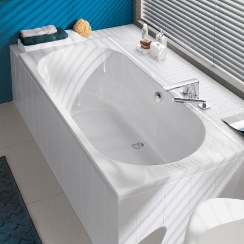 Baignoire encastrable sol simple baignoire en cramique - Baignoire encastre ...