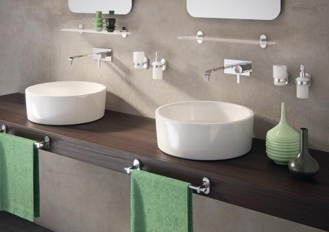 Accessoires de salle de bains Porte serviette porte savon